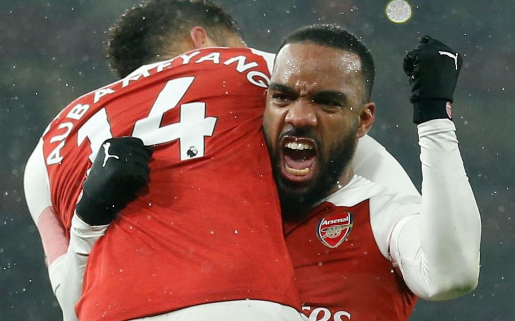 Arsenal will consider selling Alexandre Lacazette this summer.