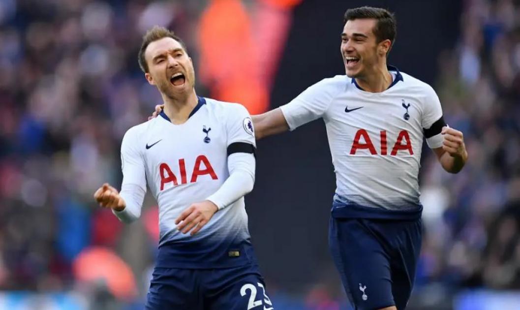 Tottenham duo Eric Dier (virus) and Erik Lamela (back) both returned to training
