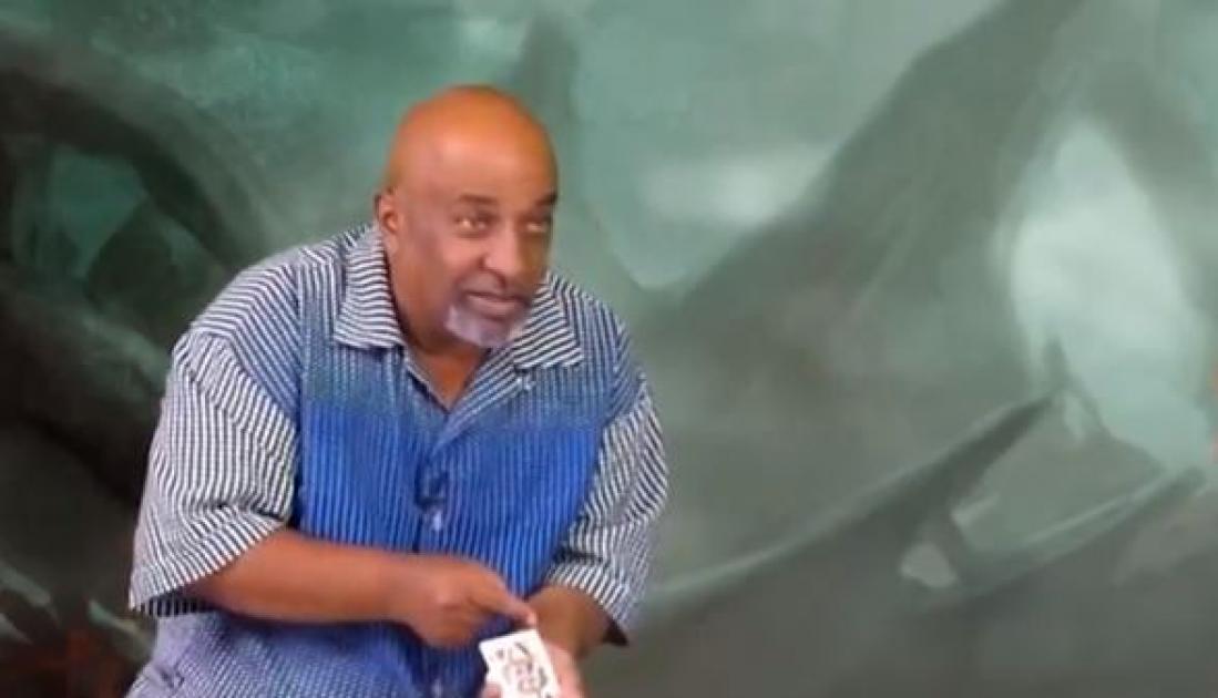 Ethiopian magician's tricks revealed