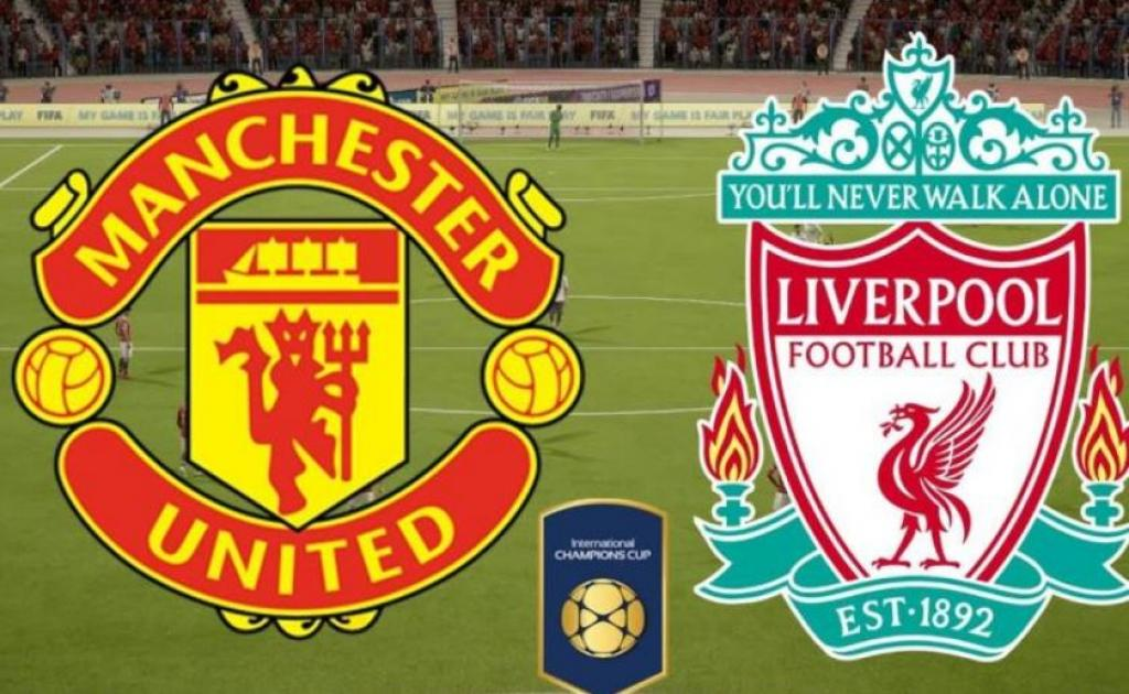 Manchester United and Liverpool play out the latest installment in their fierce rivalry at Old Traff