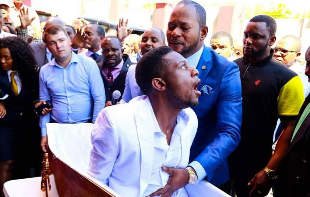 A viral stunt by a South African preacher may lead to several lawsuits