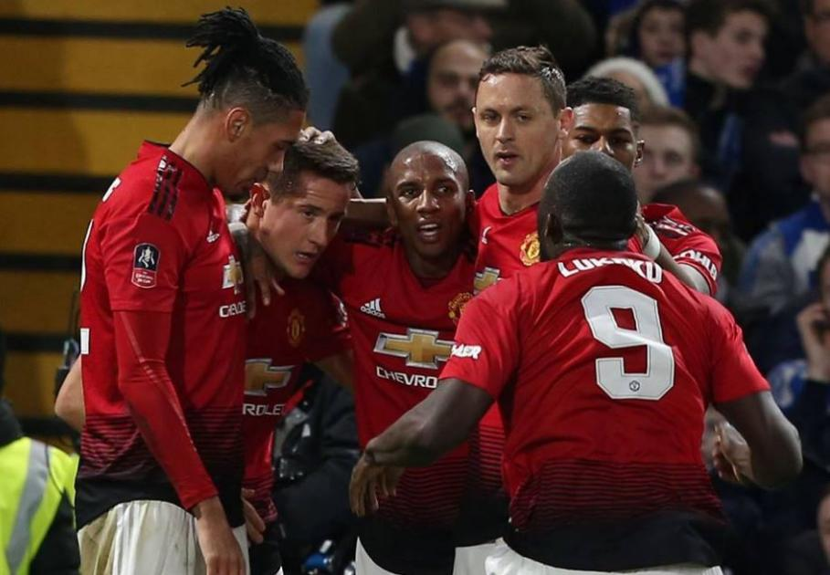 Many were shocked to see United being forced into making three changes before half-time against Live